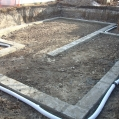 Concrete footings